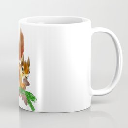 Cute squirrel art Coffee Mug