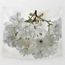 SPRING BLOSSOMS - IN WHITE - IN MEMORY OF MACKENZIE Wall Tapestry