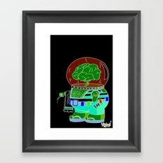 she sells .... Framed Art Print