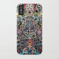 majoras mask iPhone & iPod Cases featuring Mask by Nicole Linde