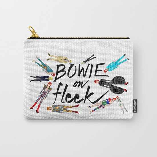 BOWIE on Fleek Carry-All Pouch