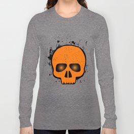 SCARY HALLOWEEN SKULL HEAD Long Sleeve T-shirt