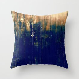 Vintage Dark Throw Pillow