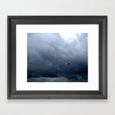 A Bright Spot Framed Art Print