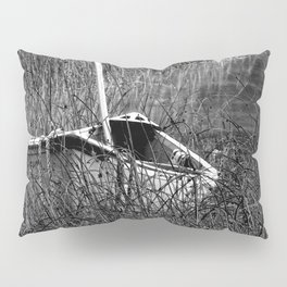 Canoe in the Reeds Pillow Sham