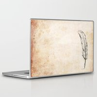 writing Laptop & iPad Skins featuring Writing by Steve Perrson