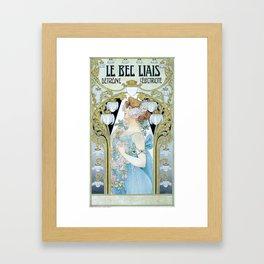 Privat-Livemont, T. (1861–1936) - Le Bec Liais 1904 Framed Art Print