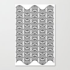 Brooklyn Williamsburgh Savings Bank Archidoodle by the Downtown Doodler Canvas Print