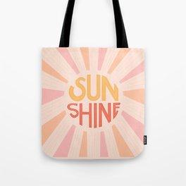 Sunshine Hand Lettering Tote Bag