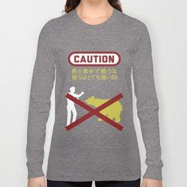 Don't Fistfight the Bears Long Sleeve T-shirt