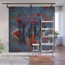 Abstract three women Wall Mural