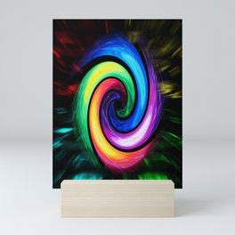 Abstract Perfection - Colorful Mini Art Print