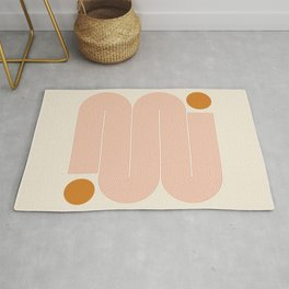 Abstraction_SUN_LINE_ART_Minimalism_002 Rug