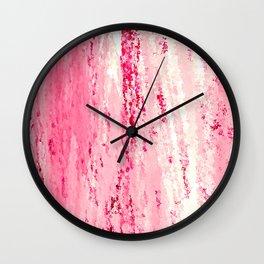 Strawberry Crush Wall Clock