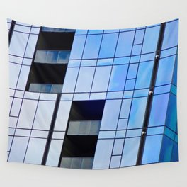 Glass Cubism Wall Tapestry