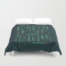 Bunch of Blades Duvet Cover