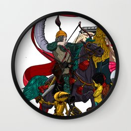 Last Battle no 1 Wall Clock