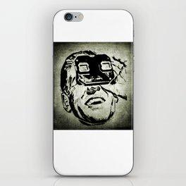 3D glasses vintage iPhone Skin