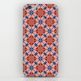 Folk Pattern iPhone Skin