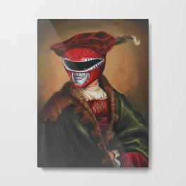 Portrait Of A Stately Ranger Metal Print