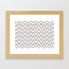 Luna Gridlock Framed Art Print
