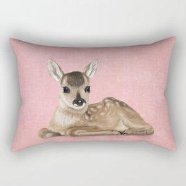 Small fawn Rectangular Pillow