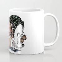 bali Mugs featuring BALI MONKEY by ISSO