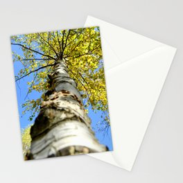 Running up the tree  Stationery Cards