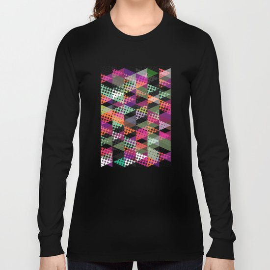 Dots and Triangles III  Long Sleeve T-shirt
