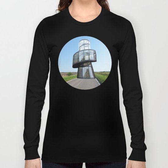 Surreal CityLand Collage 1 Long Sleeve T-shirt