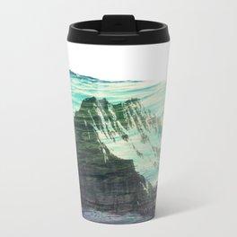Underwater Mountain Metal Travel Mug