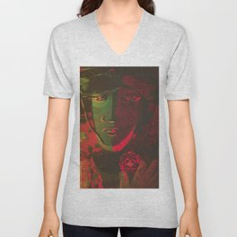 Stay Wild and Kiss Me Unisex V-Neck