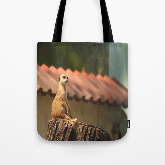 Funny Observer Tote Bag
