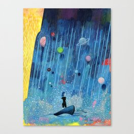 """""""Something Wrong with the Universe"""" by Scott Bakal for Nautilus Canvas Print"""