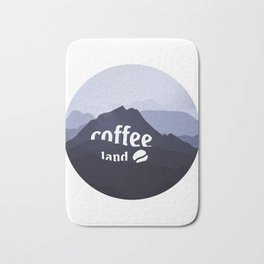 Coffee highland - I love Coffee Bath Mat