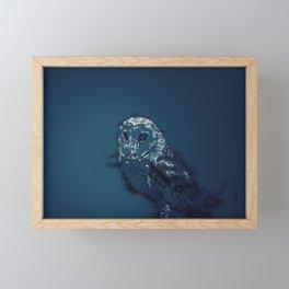 OWL .. Framed Mini Art Print