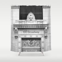 the 100 Shower Curtains featuring 100 Broadway by Jon Cain