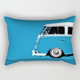 1967 Camper Van Bus Rectangular Pillow