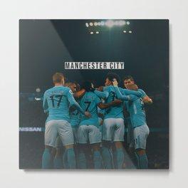 Manchester City Metal Print