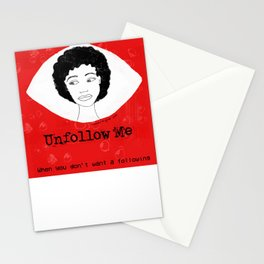 Unfollow Me directed by Lena Nozizwe Stationery Cards
