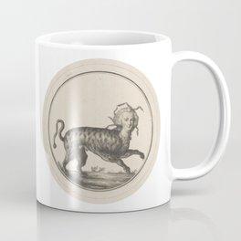 Mythical Victorian Lady Cat Coffee Mug
