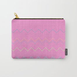 ZigZag Magenta Carry-All Pouch