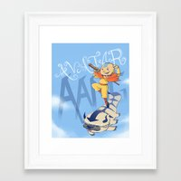 aang Framed Art Prints featuring Avatar Aang by LeticiaFigueroa