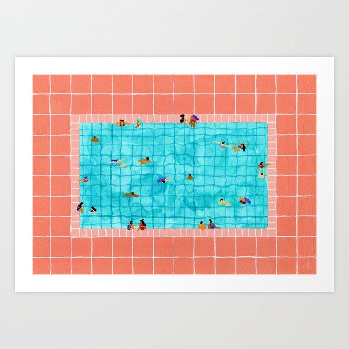 Coral Pool Kunstdrucke