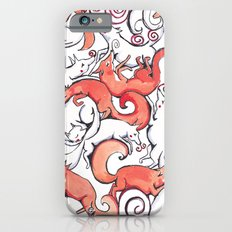 Fox Pattern iPhone 6s Slim Case