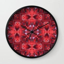Star Resonance Mandala Wall Clock