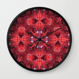 Star Resonance Mandala Wall Clock