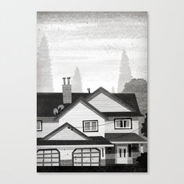 Places I've Lived Series - 9 Canvas Print