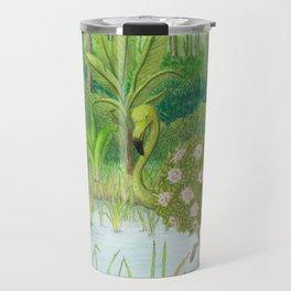 Birds of Paradise: Flamingo Travel Mug