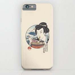A Taste of Japan iPhone Case